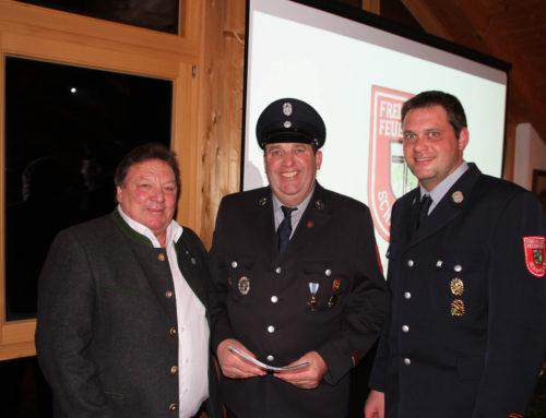 126. Jahreshauptversammlung der Freiwilligen Feuerwehr Schaftlach
