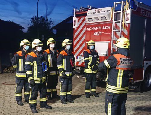 Verstärkung für die Feuerwehr Schaftlach – Truppführerprüfung