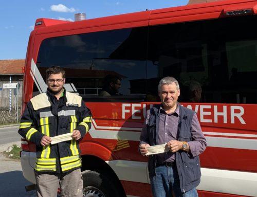Feuerwehr Schaftlach jederzeit einsatzbereit – dank Unterstützung vor Ort auch während der Corona-Pandemie